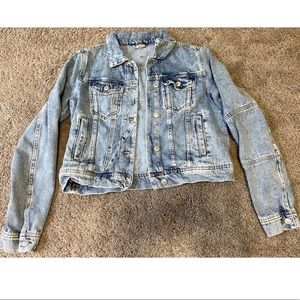 Free People Jean jacket size small NEW